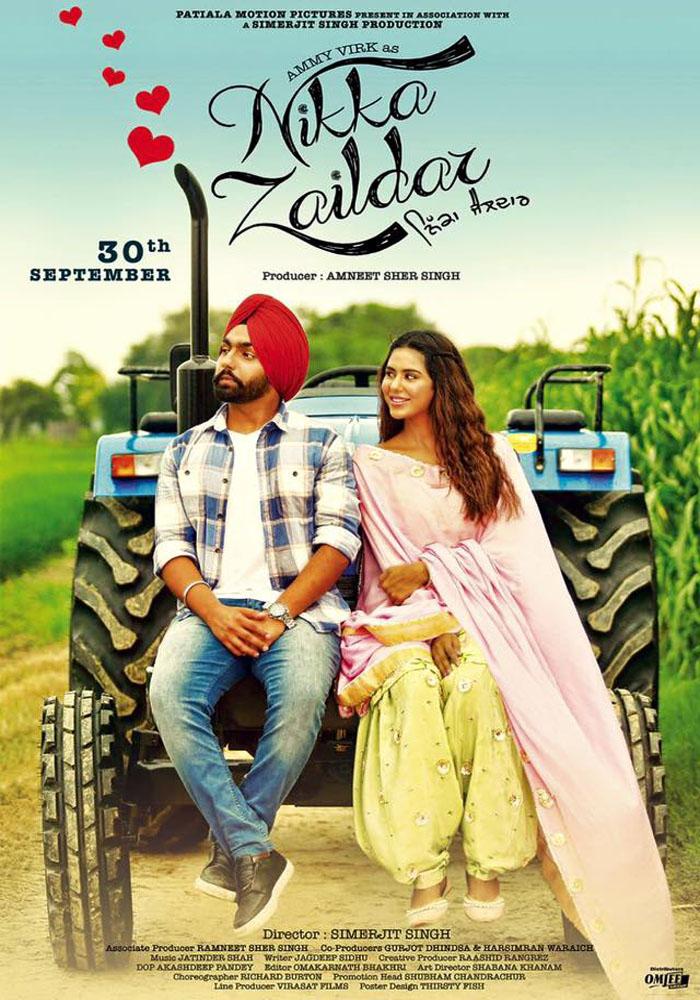 Nikka Zaildar (2016) Punjabi 720p UntoucheD - WEB HD AVC - AAC - RANVIJAY
