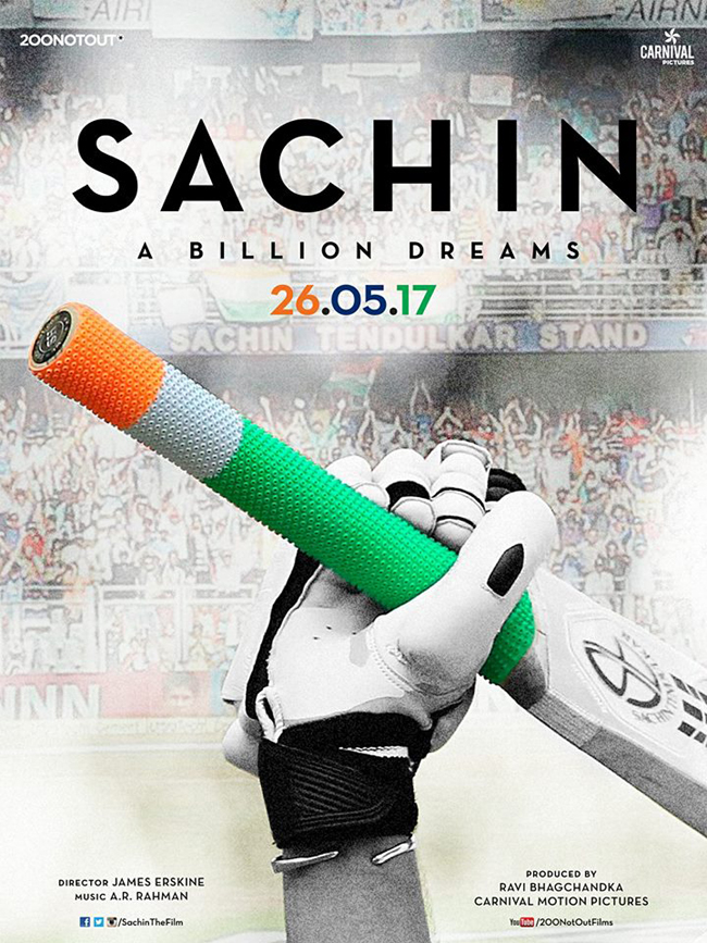 sachin a billion dreams hit the theatres on 26 may