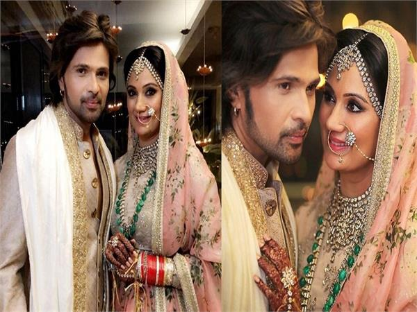 himesh reshammiya sonia kapoor marriage pics instagram bollywood celebrity