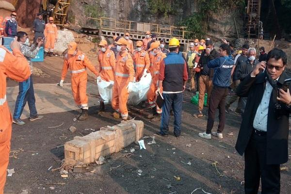 one body recovered from meghalaya mine after 42 days
