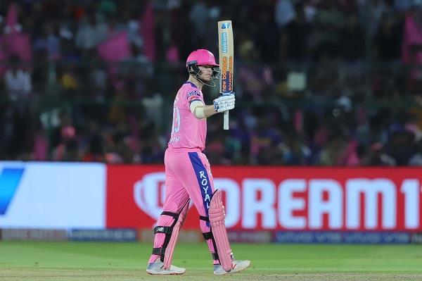 IPL 2019 : ਸਮਿਥ ਦਾ ਅਰਧ ਸੈਂਕਡ਼ਾ, ਰਾਜਸਥਾਨ ਨੇ ਮੁੰਬਈ ਨੂੰ 5 ਵਿਕਟਾਂ ਨਾਲ ਹਰਾਇਆ