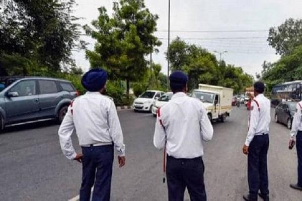 kalanaur  traffic rules  administration