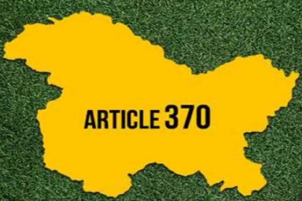 article 370 repeal one year terrorism