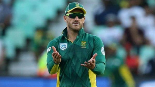 advice to captain du plessis  no need to be a super man in the world cup