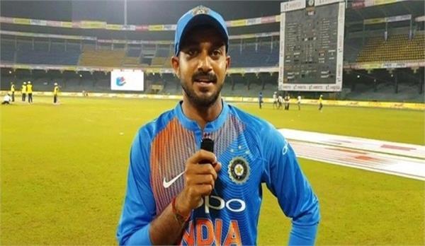after loss the match  vijay shankar gave a big statement