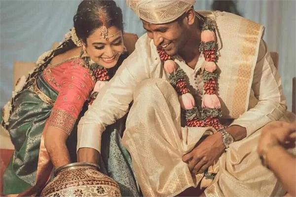 gautam married his girlfriend after manish pandey