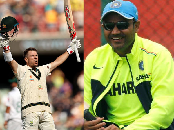 david warner revealed credit of triple century former indian player