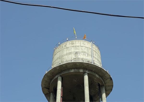 khalistani flags tarn taran zindabad
