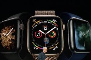 new apple watch series 4 has larger screens and ecg feature