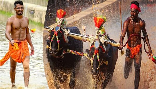 another kambala runner nishant shetty breaks srinivas gowda record