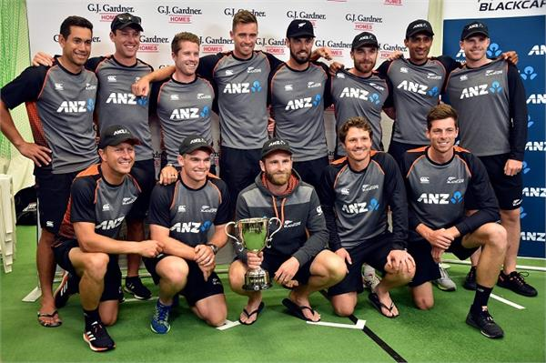 new zealand won the second test by a draw