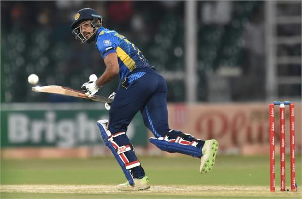 sri lanka  s gunathilaka out of west indies odi series