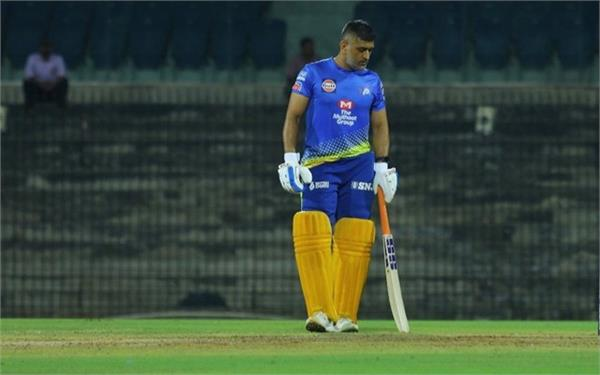 dhoni was appearing in a magnificent rhythm at chennai camp