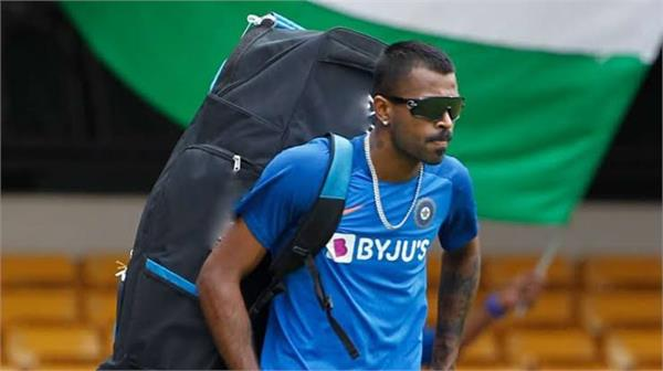 hardik pandya can return to the team with a white ball