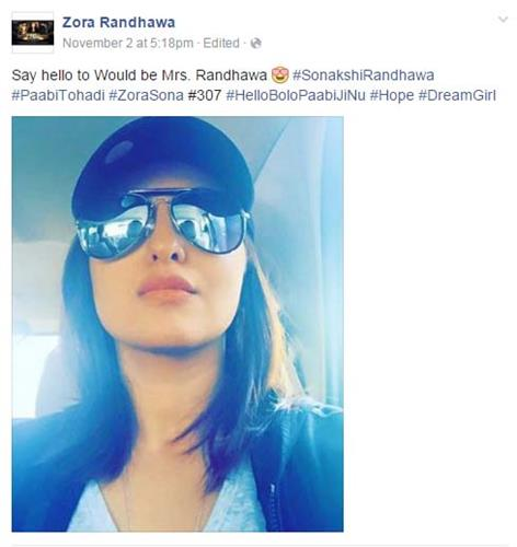 famous punjabi singer wants to marry with sonakshi sinha