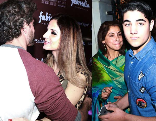 hrithik roshan with ex wife