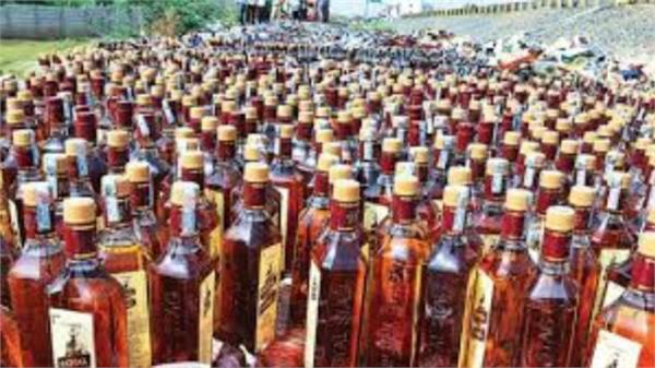 police raid desi alcohol recovered