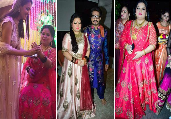 bharti singh haarsh limbachiyaa pool party pictures
