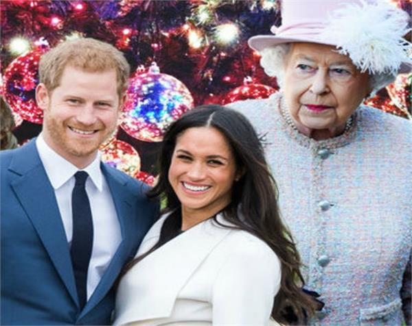 prince harry  s fiance megan celebrates christmas with royal family this year