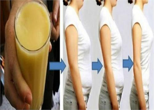 drink the juice to reduce abdominal fat