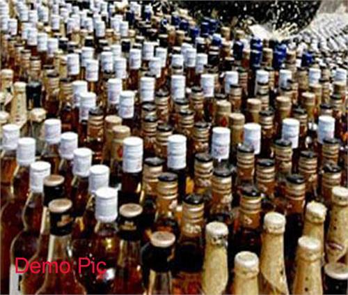 raiders illegal liquor arrested
