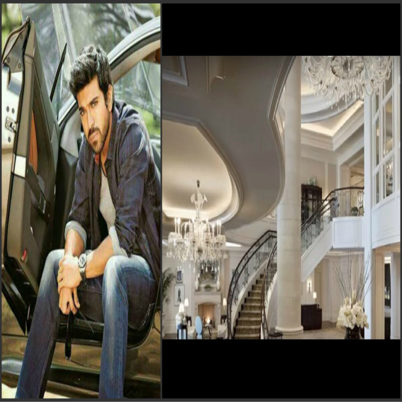 south indian superstar ram charan teja luxury house photo