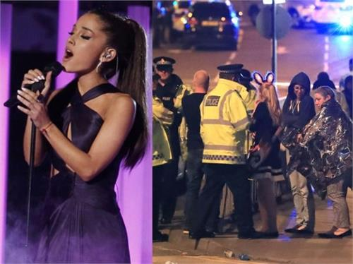 the explosion in manchester this famous singing program pictures