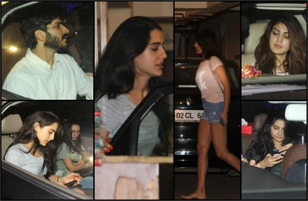 sara ali khan party