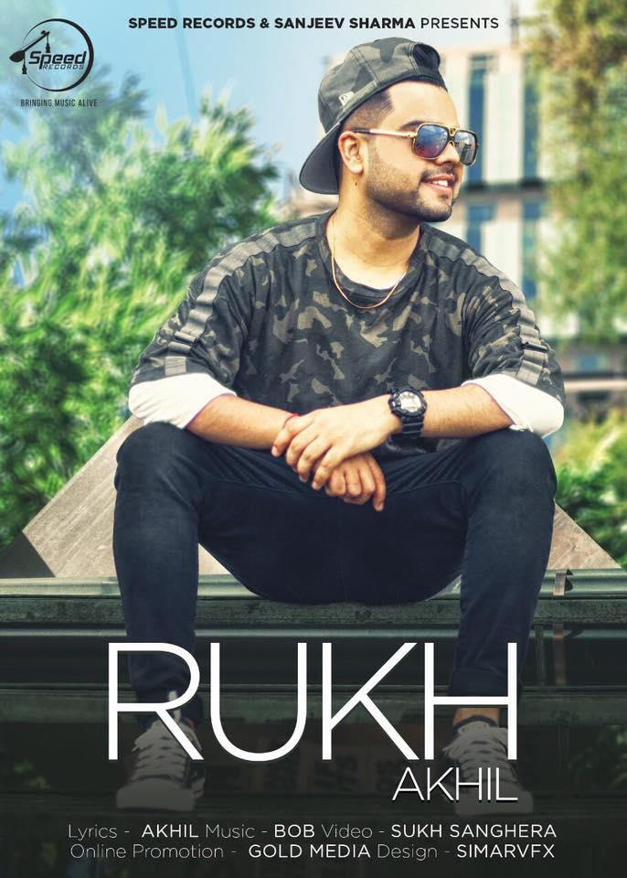 akhil new song rukh out now