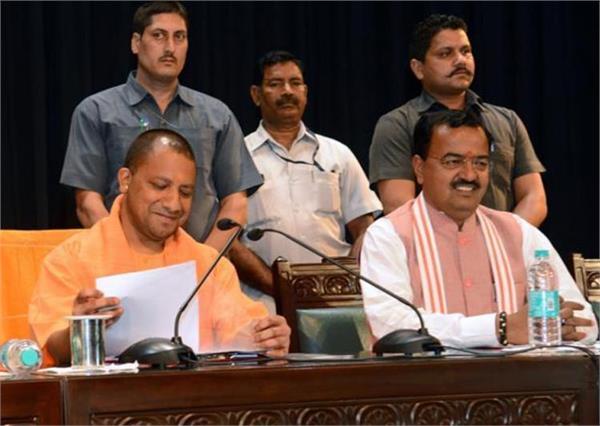 yogi cabinet  teachers salary  police lathi charge