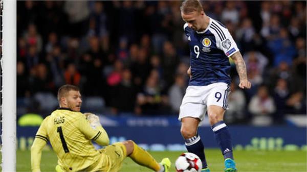 scotland slovenia win in world qualifying