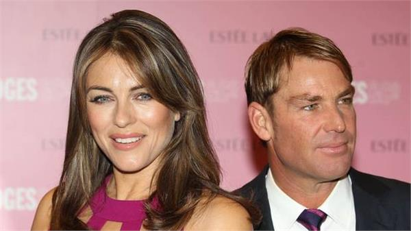 liz is one of the happiest moments of my life  shane warne