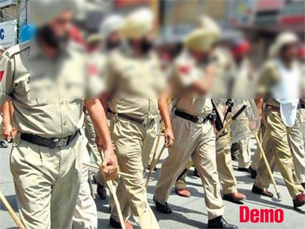 flag marches  samana  police  lok sabha elections