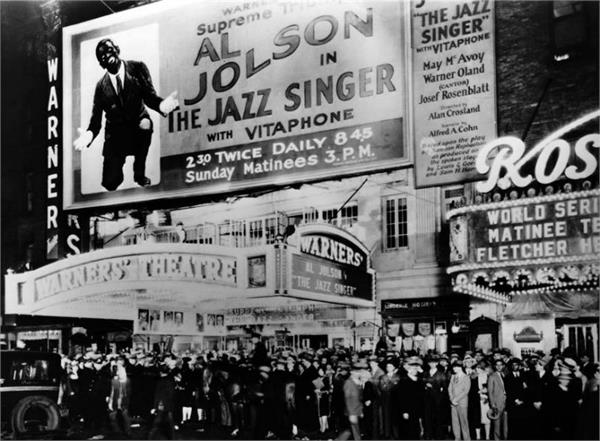 6 october 1927 the first  talkie  movie of history