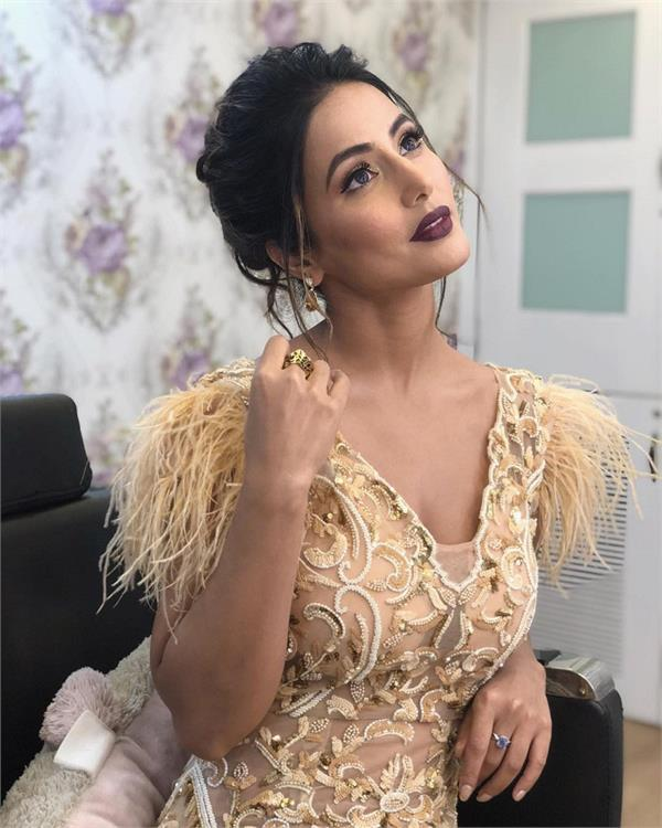 hina khan hot look