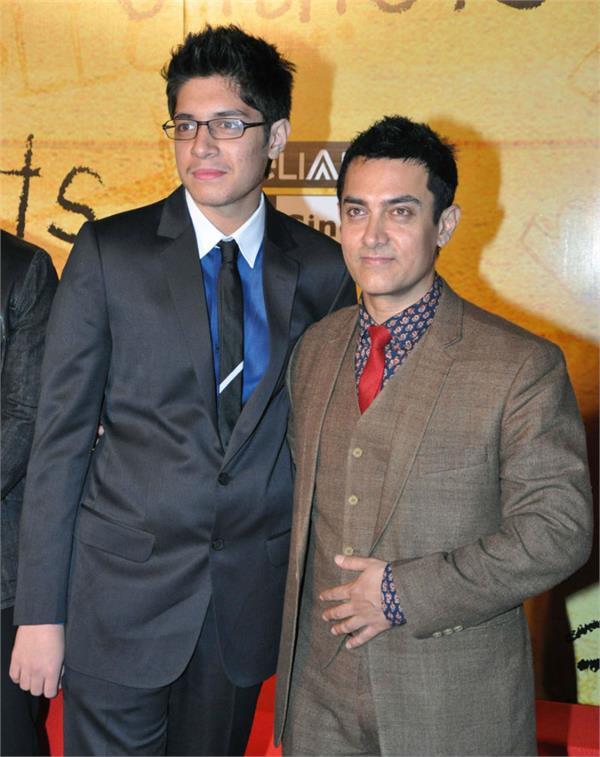 aamir khan and junaid khan