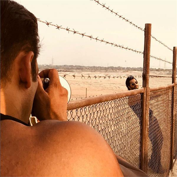 bharat shooting in new delhi