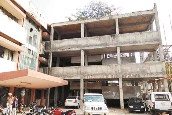 for two years due to shortage of ramp funds for the elderly and the disabled