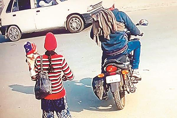 terror of motorcycle thieves in the holy city  people are distraught
