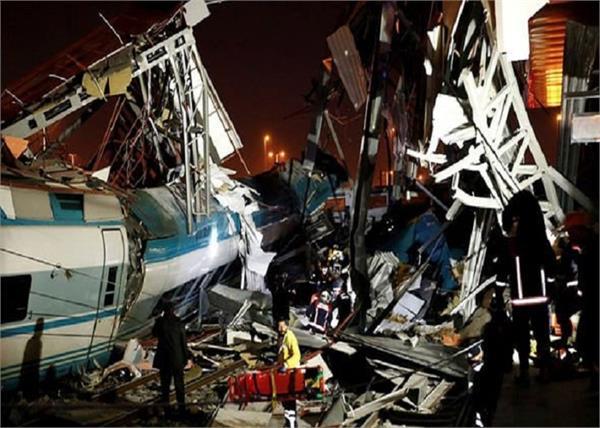 horror train crash ankara 7 dead