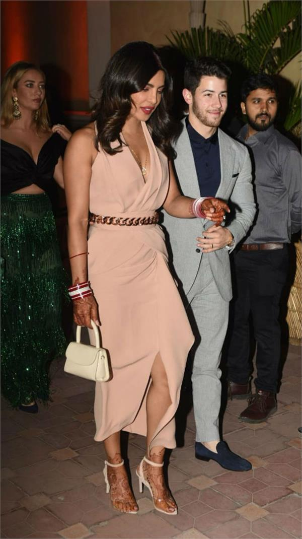 priyanka chopra and nick jonas grace bumble launch party