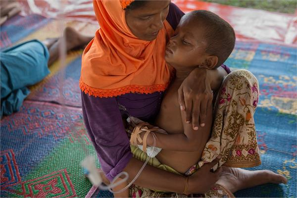 rohingya is the victim of malnutrition despite food assistance
