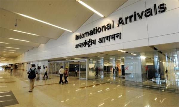 delhi airport  international terminal  passenger tracking