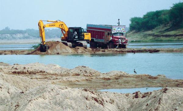 government of punjab  mining  sukhbinder singh sarkaria
