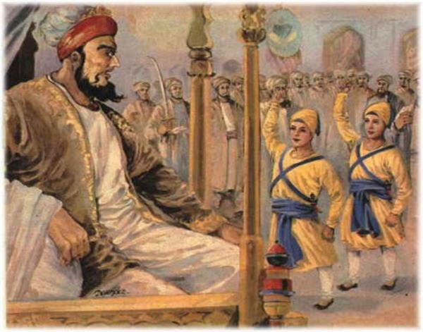 dole not state it is the red of gobind singh