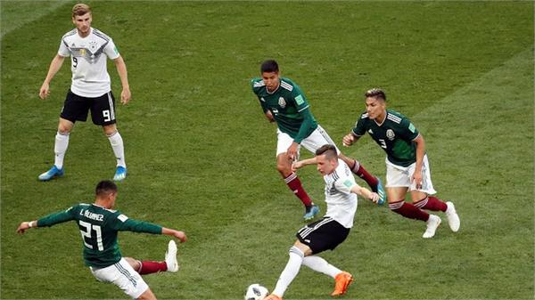fifa world cup mexico defeated germany 1 0