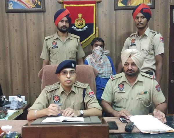 one arrested including opium