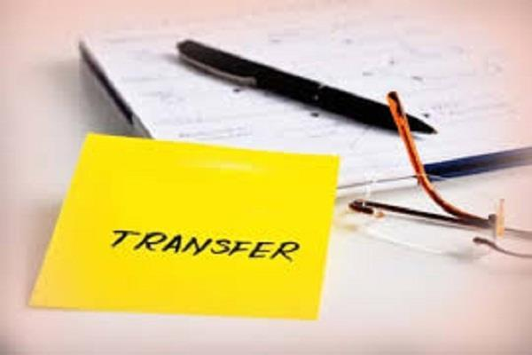 33 ias and pcs officers transfer