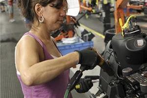 vehicle workers heavy work attendance of women workers
