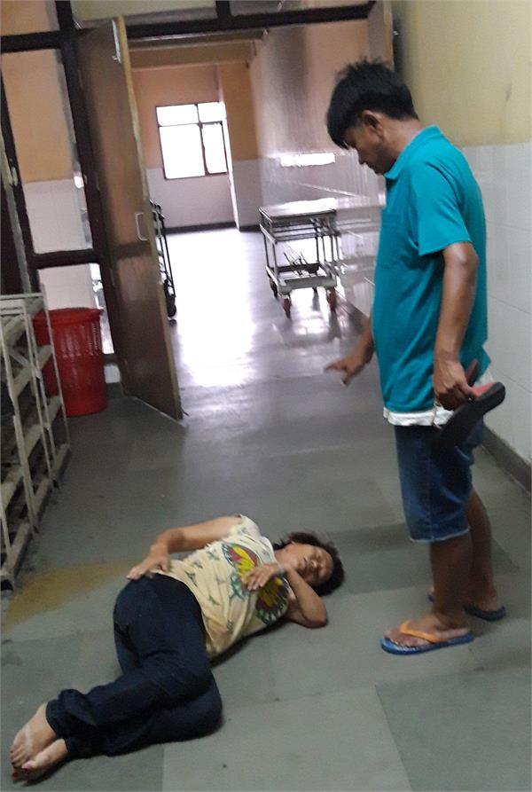 civil hospital in female nagin dance
